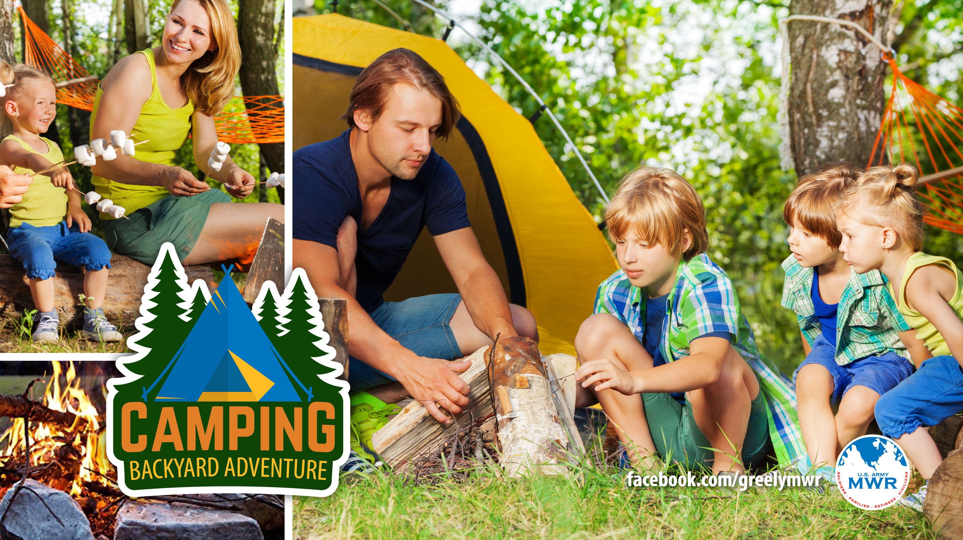 Camping - Backyard Adventure