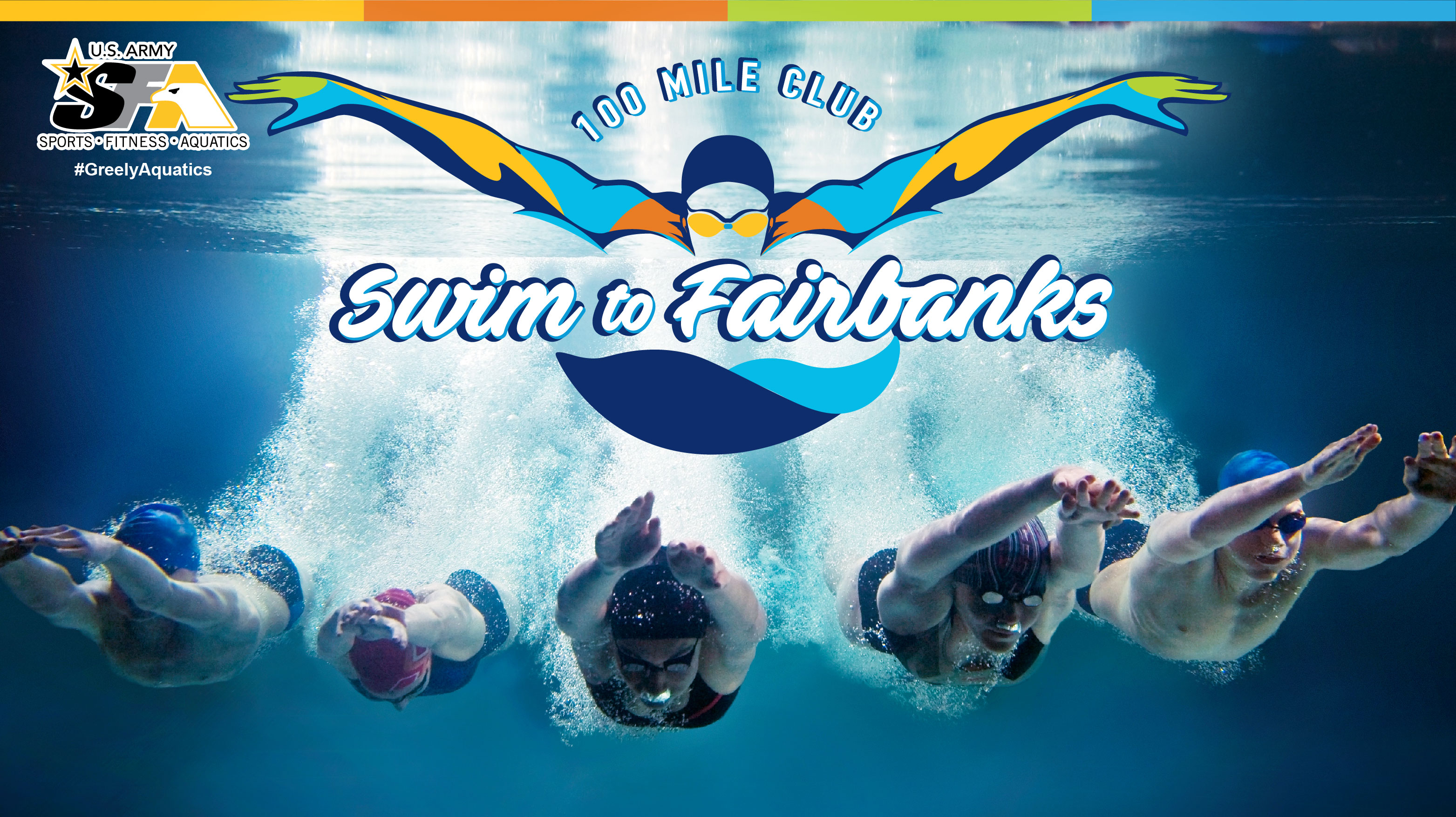 Swim to Fairbanks - 100 Mile Club