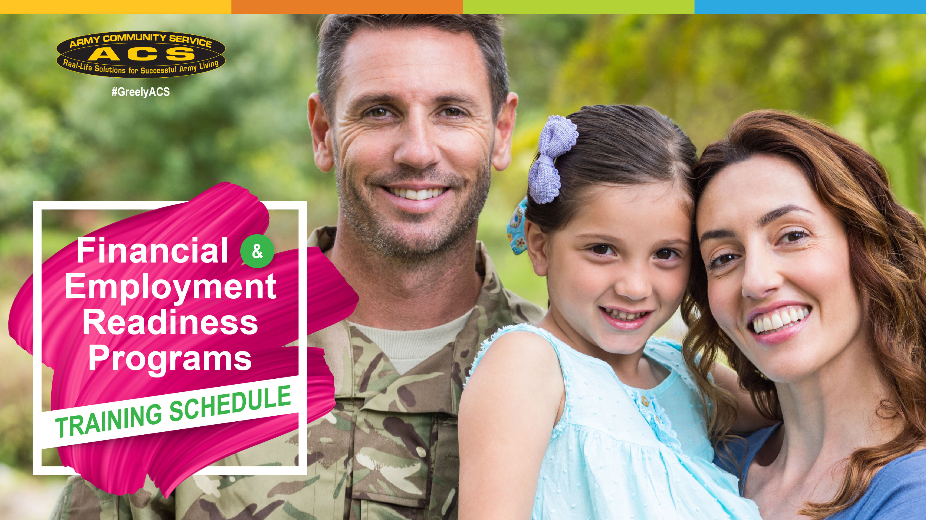 Financial & Employment Readiness Programs Training Schedule