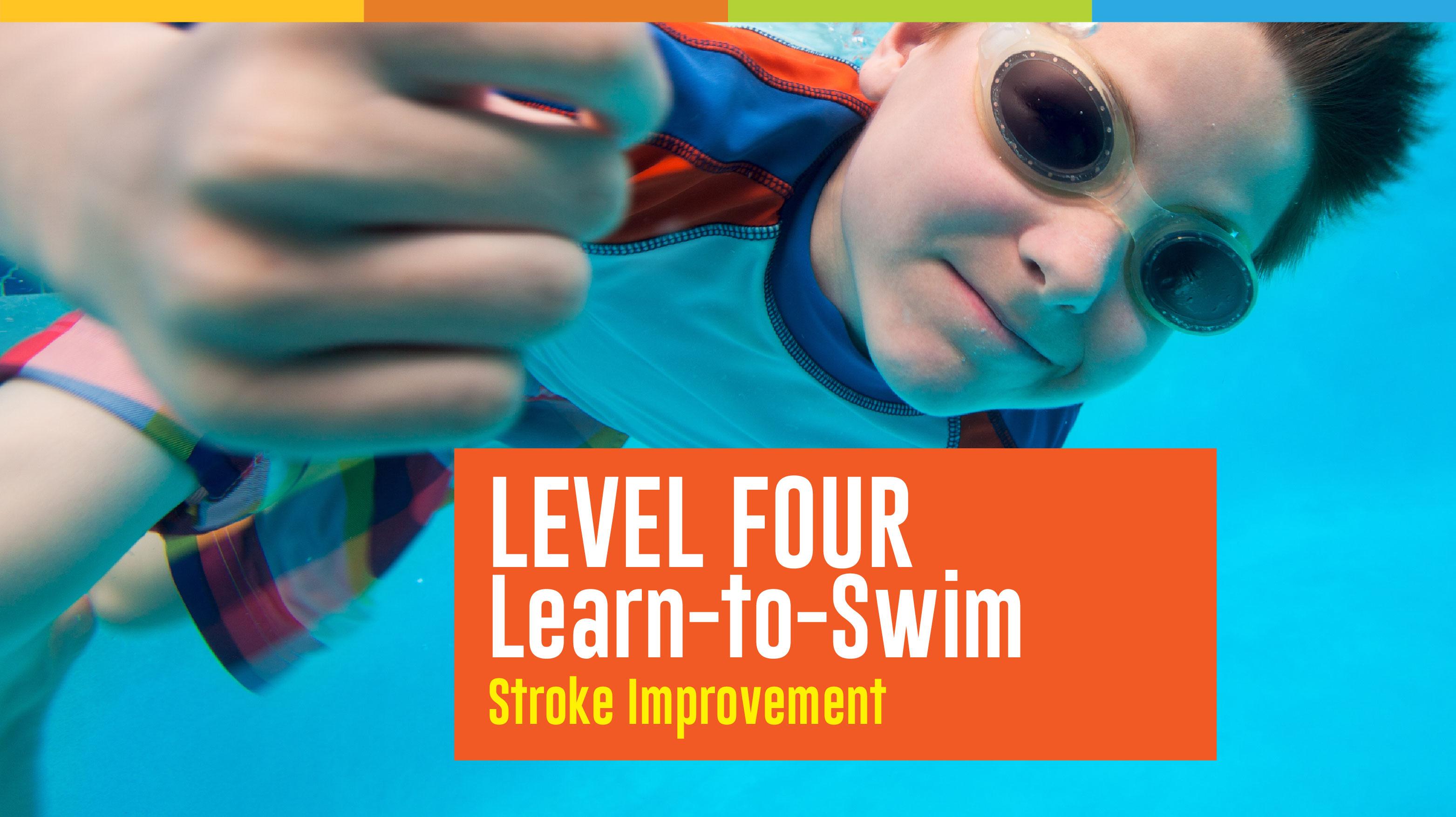 Learn to Swim - Level 4 Registration
