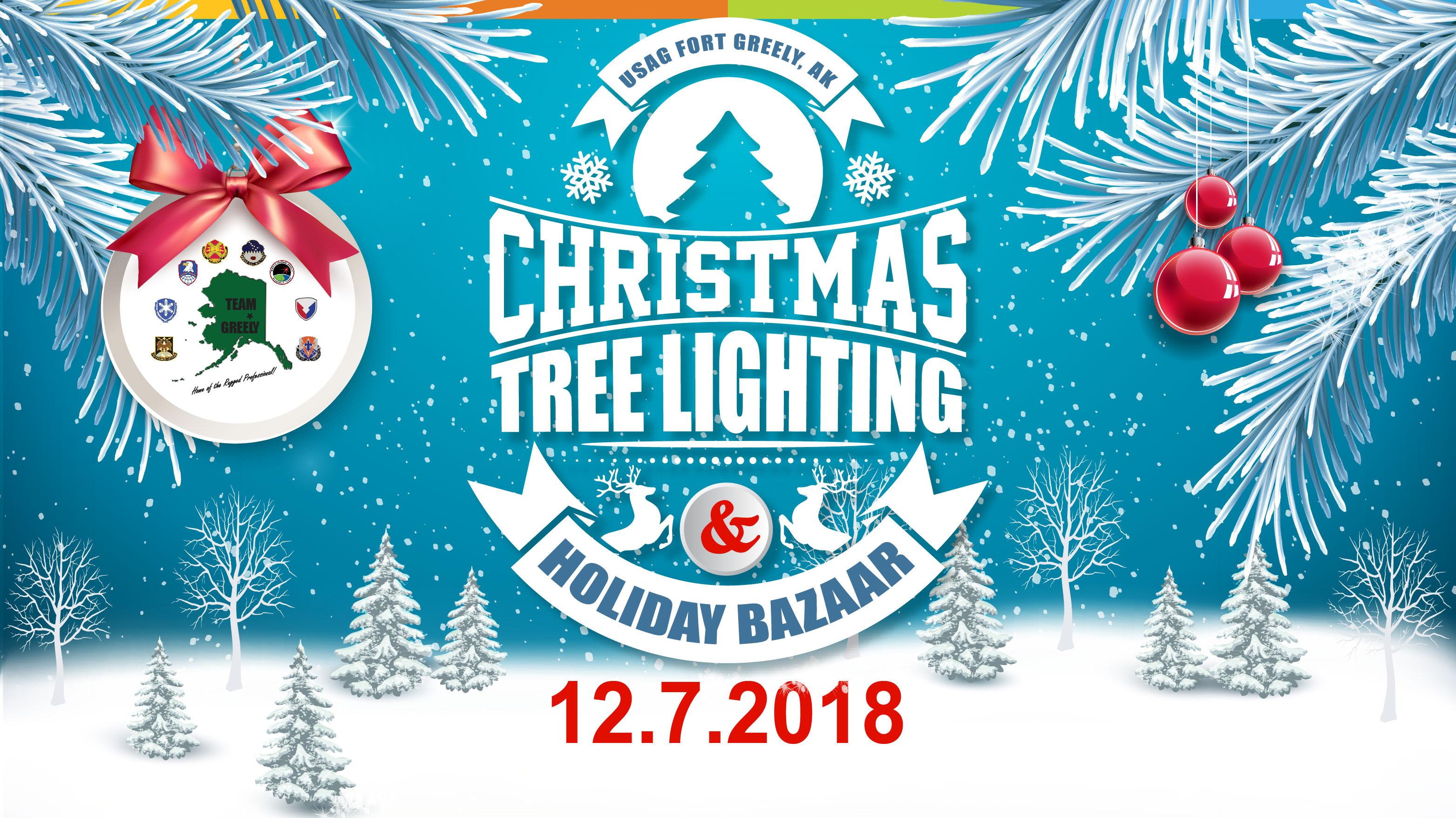 Christmas Tree Lighting Ceremony & Holiday Bazaar