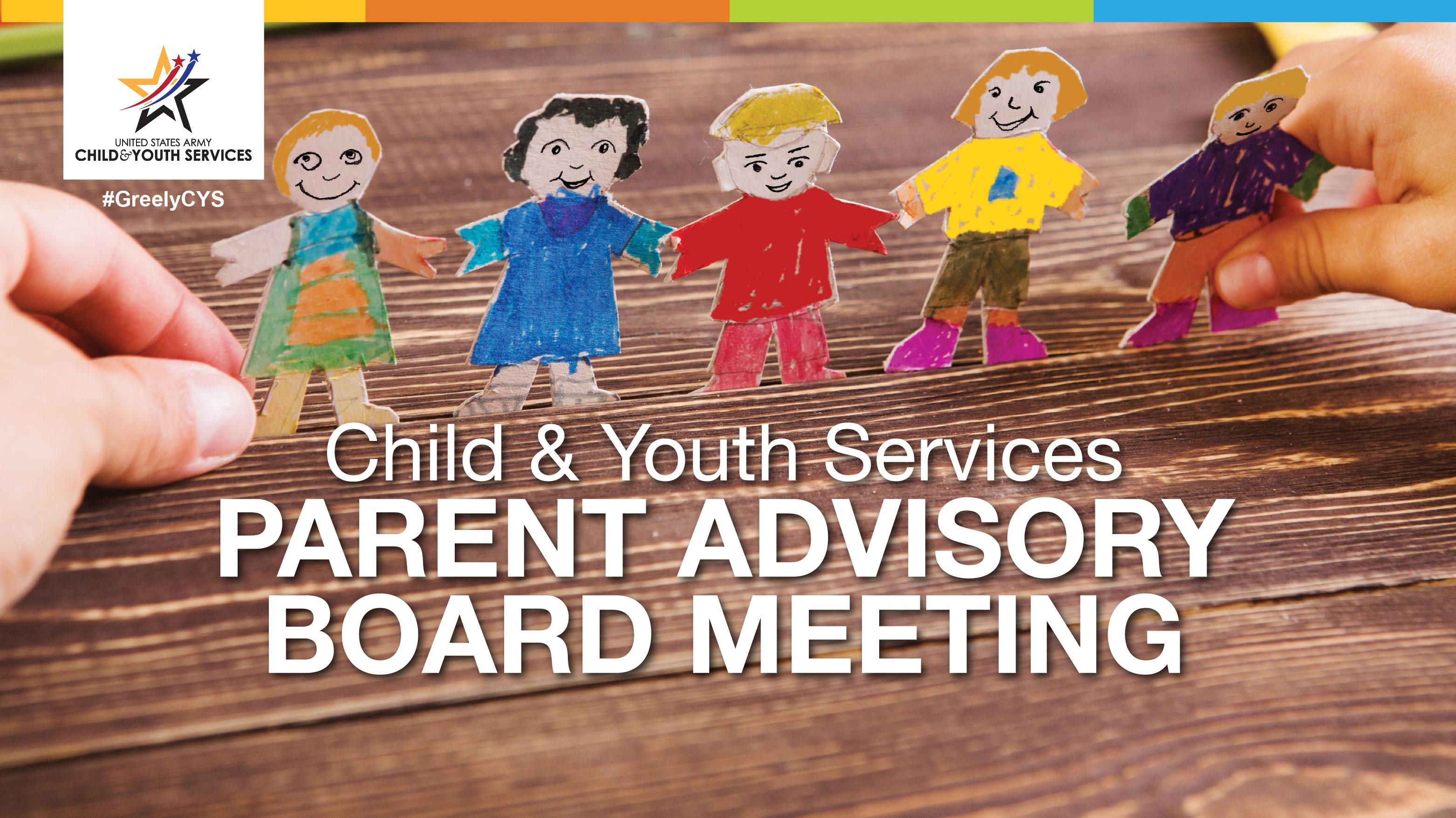 Parent Advisory Board Meeting