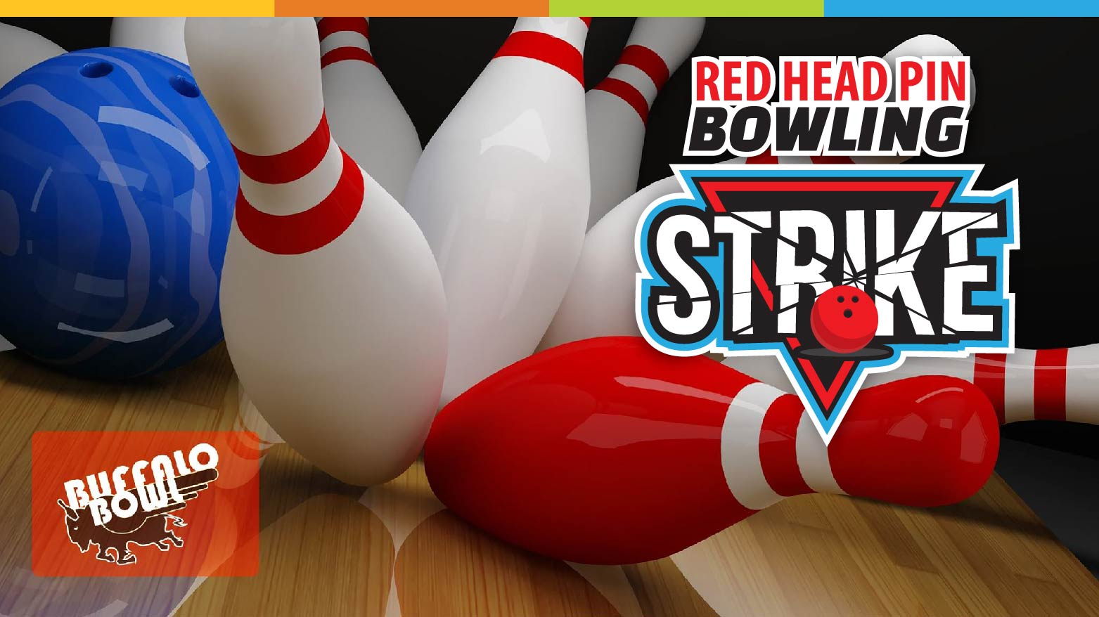 Red Head Pin Bowling