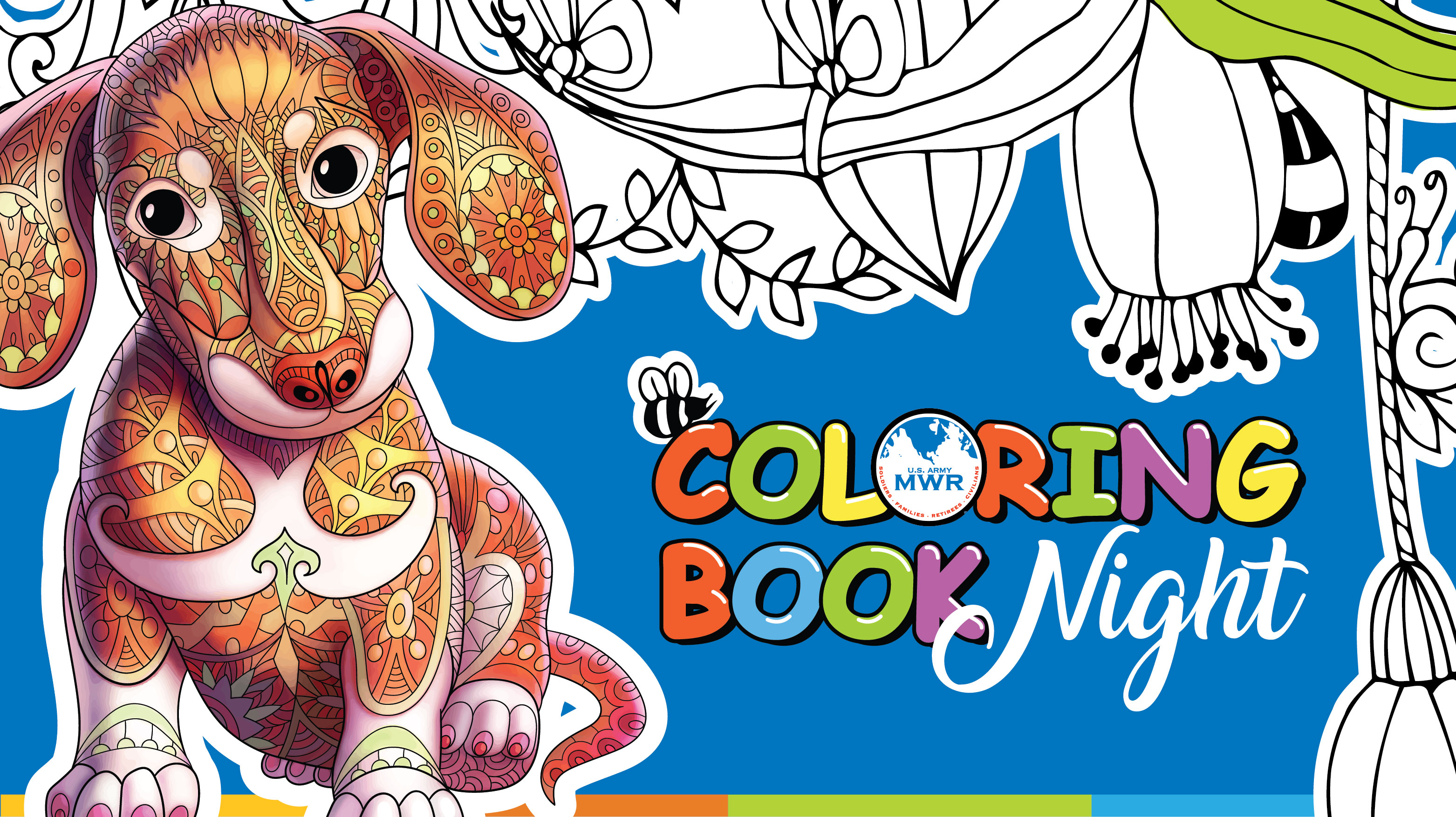 Coloring Book Night