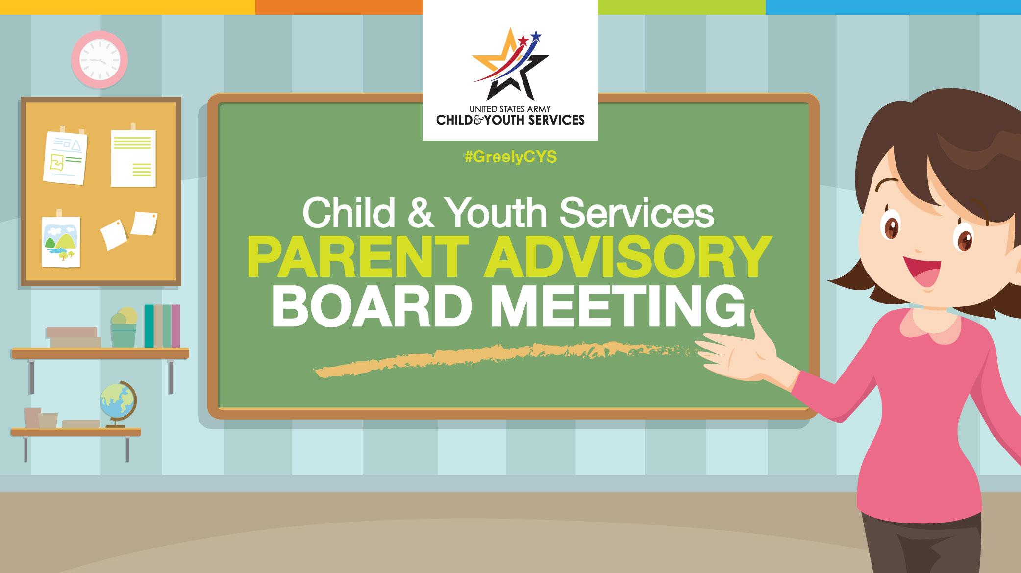 CYS Parent Advisory Board Meeting